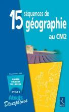 15 SEQUENCES DE GEOGRAPHIE CM2 PACK 6 CAHIERS	 - 	9782725627250