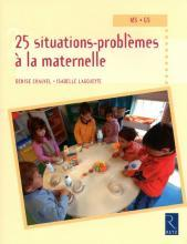 25 SITUATIONS PROBLEMES A LA MATERNELLE	 - 	9782725629100