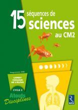 15 SEQUENCES DE SCIENCES CM2 PACK 6 CAHIERS	 - 	9782725629377