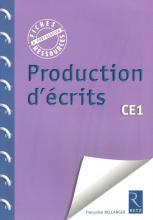 PRODUCTION D'ECRITS CE1 EDIT.2012	 - 	9782725630823