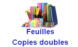 Feuilles copies doubles
