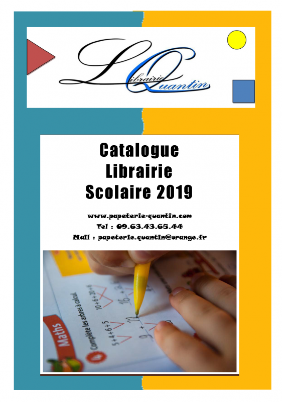Catalogue scolaire 2019