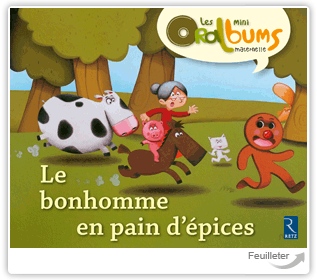 LE BONHOMME EN PAIN D'EPICES PACK DE 5 MINI	 - 	9782725628523
